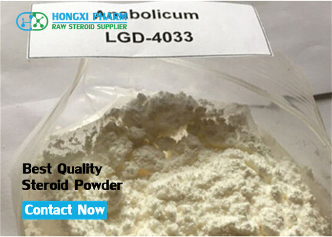 Medical SARMs Raw Powder LGD-4033 Ligandrol For Bulking / Cutting Cycles